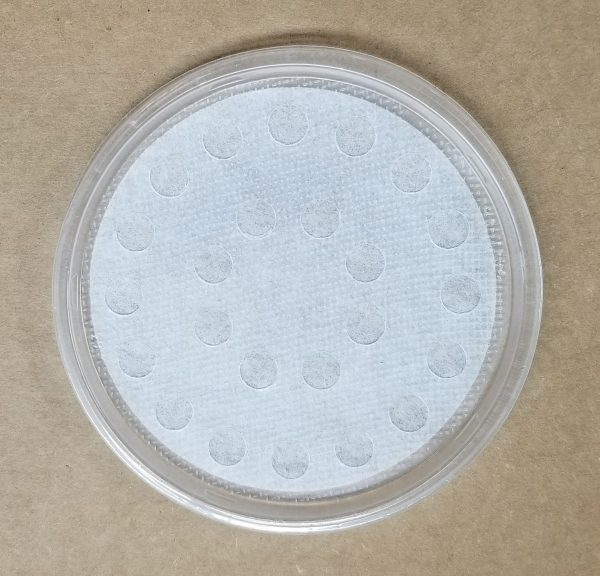 Poly fabric lid